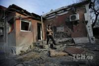 Душераздирающие фото поселка под Донецком после обстрела