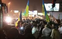 Этой ночью киевляне встречали ребят из зоны АТО