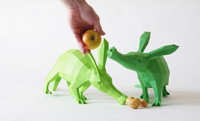 ФОТО: Удивительные 3D скульптуры из цветной бумаги