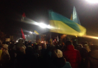 Киев триумфально встретил «киборгов» из Донецкого аэропорта