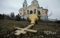 Террористы обстреляли православную церковь в пригороде Донецка