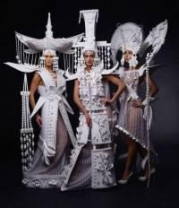 Вы не поверите, но некоторые умудряются делать свадебные наряды... из обычной бумаги