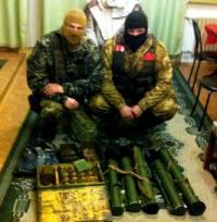 На Луганщине УБОПовцы обнаружили оружейный схрон «призрака» Мозгового