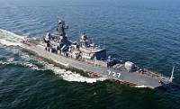 Российские корабли спасаются от шторма в Ла-Манше