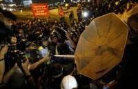 В Гонконге продолжаются акции протеста. Фото с места событий