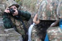 Отныне выезды журналистов будут проводиться в сопровождении военных /АТО/