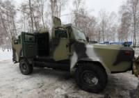 Украинский бронеавтомобиль Kozak прошел суровые огневые испытания