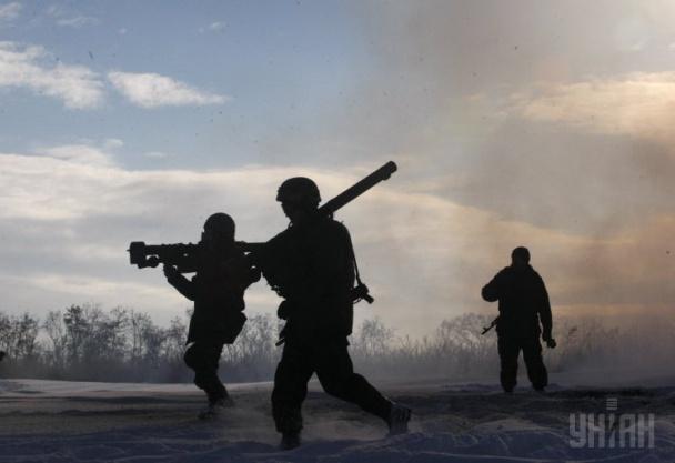 ФОТО: Силовики на Луганщине учатся стрелять из ПЗРК