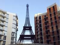 В Киеве появилась своя Эйфелева башня