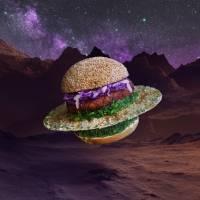 Оказывается, при хорошей фантазии, даже обычный бургер можно сделать произведением исскуства