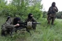 За сутки террористы 55 раз обстреляли позиции сил АТО