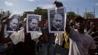 Демонстранты на Гаити просят помощи у... Путина