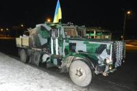 «Донбассу» на передовую доставили фантастический бронированный грузовик