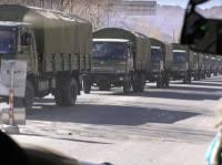 Жители Донбасса заявляют, что боевики везут в Луганскую область боеприпасы