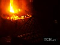 Ночью в Киеве произошел пожар в одном из банков