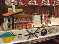 В США испекли торт с «зелеными человечками» и надписью «Крым не ваш»