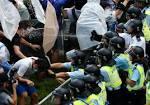 Полиция Гонконга ликвидировала последнюю баррикаду протестующих