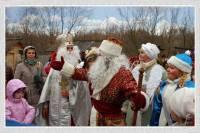 Главная резиденция Деда Мороза открывается в Древнем Киеве