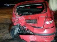 В Мариуполе пьяный банкир на джипе с пулеметом протаранил припаркованный автомобиль