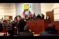 Во время захвата донецкой областной государственной администрации там присутствовал Семен Семенченко?