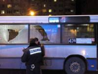 Во Львове неизвестные открыли огонь по рейсовому автобусу