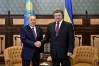 Назарбаев готов содействовать ускорению мирного процесса на Донбассе