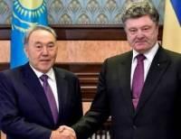 Те задачи, которые поставлены мной и Назарбаевым, демонстрируют прогресс наших взаимоотношений /Порошенко/
