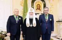 Российский пропагандист Киселев довыслуживался до ордена из рук патриарха Кирилла