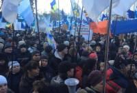 В Киеве начинается Третий Майдан? Под Радой разбивают палатки
