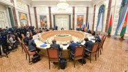 В Минске идет заседание контактной группы по Донбассу
