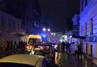 В Сети появились первые фото с места ночного взрыва в Харькове