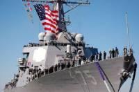 В Черное море сегодня снова войдет американский эсминец