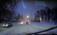 В Николаеве - гроза со снегом. Редкое природное явление