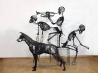 Южнокорейский художник создает необычные скульптуры из обычной проволоки