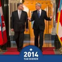 Канада и дальше будет поддерживать Украину в ее борьбе с российской агрессией /Харпер/