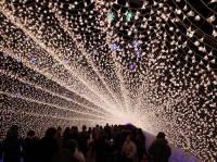 Японский световой фестиваль. Такого не увидите даже в фантастическом фильме