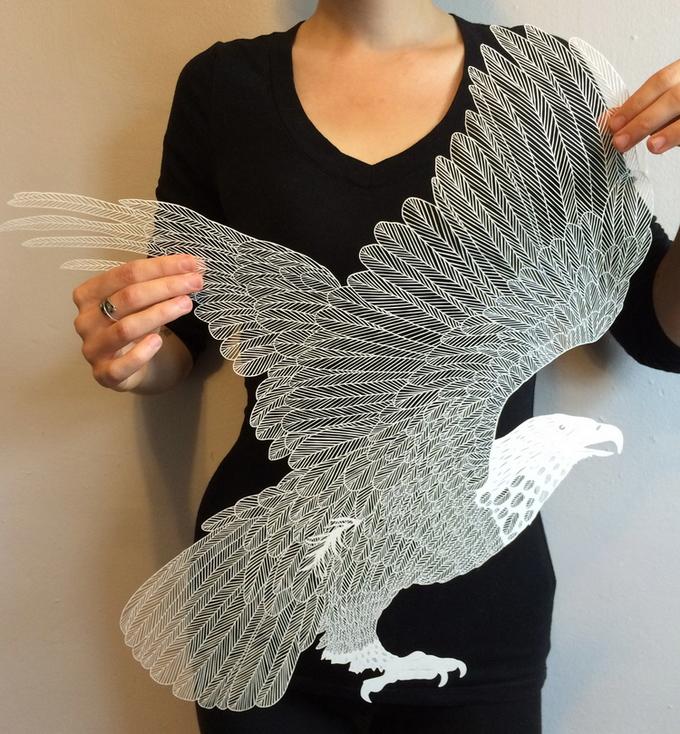 ФОТО: Невероятно тончайшие скульптуры из бумаги