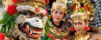 На полпути в Украину Новый год заглянул в Индонезию