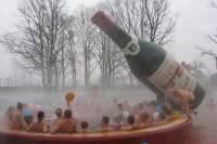 На Закарпатье появился уникальный фонтан-бассейн
