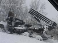 В Снежном украинские партизаны обезвредили «Град» вместе с экипажем