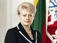 Литва поддерживает Украину /Грибаускайте/