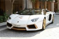 Красиво жить не запретишь. В Эмиратах появился «Ламборджини» из чистого золота