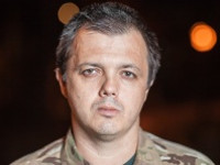 Семенченко контужен в ходе операции в Углегорске. После этого он попал в ДТП