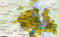 Столичные власти опубликовали интерактивную карту с адресами укрытий и бомбоубежищ Киева