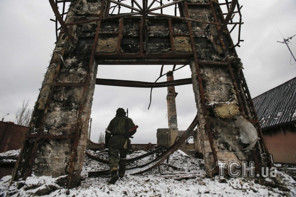 ФОТО: Вместо Углегорска теперь одни руины