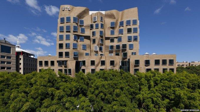 В австралии построили здание в виде