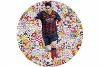Картина, на которой изображен Лео Месси, ушла с молотка за 428 тысяч евро