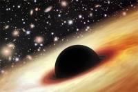 Астрономы обнаружили огромную черную дыру времен ранней Вселенной
