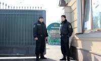 В Межигорье задержали жителя Крыма с картами Донецкой области