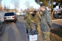 Волонтеры передали в зону АТО спецоборудование для разведчиков